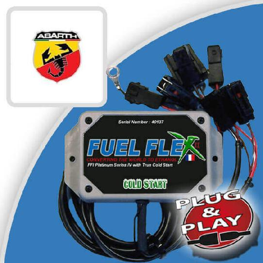 image Kit Flex Fuel 4 Cylindres ABARTH 500C 1.4 Turbo T-Jet 140ch 595 BVA 8 cv année 2015