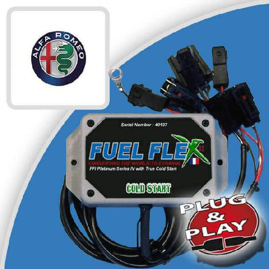 image Kit Flex Fuel 4 Cylindres ALFA ROMEO Giulietta 1.4 TB MultiAir 170ch Exclusive Stop and Start 9 cv année 2014