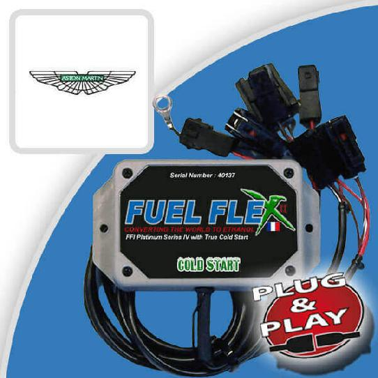 image Kit Flex Fuel 12 Cylindres ASTON MARTIN DB9 V12 5.9 517ch Edition Carbone Touchtronic II 44 cv année 2014