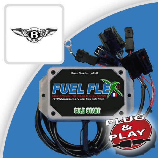 image Kit Flex Fuel 8 Cylindres BENTLEY Mulsanne 6.75 V8 537ch Speed 47 cv année 2016