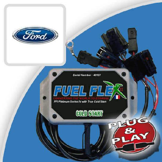 image Kit Flex Fuel 4 Cylindres FORD Fiesta II 1.3 Newport Air.Bag 3p 6 cv année 1995