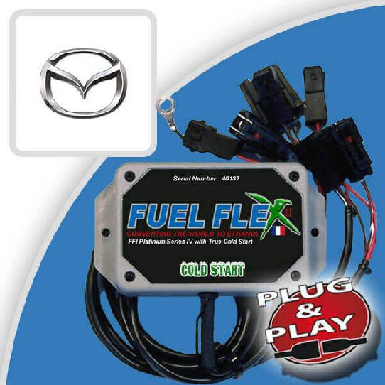 image Kit Flex Fuel 4 Cylindres MAZDA MX5 1.6 110ch Phoenix 7 cv année 2002